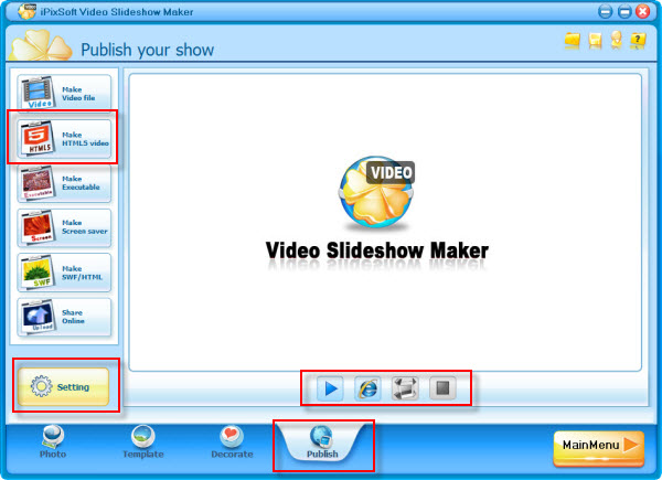 Make A Aurora Video Slideshow With Photo Video And Music